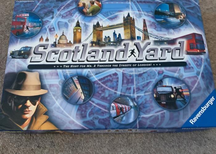 Scotland Yard board game - 2