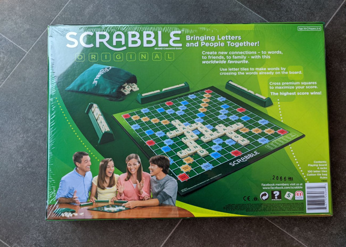 Scrabble Board Game - 2