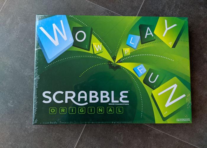 Scrabble Board Game - 1