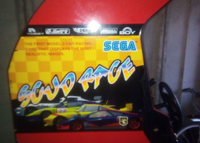 Scud race arcade machine - 2