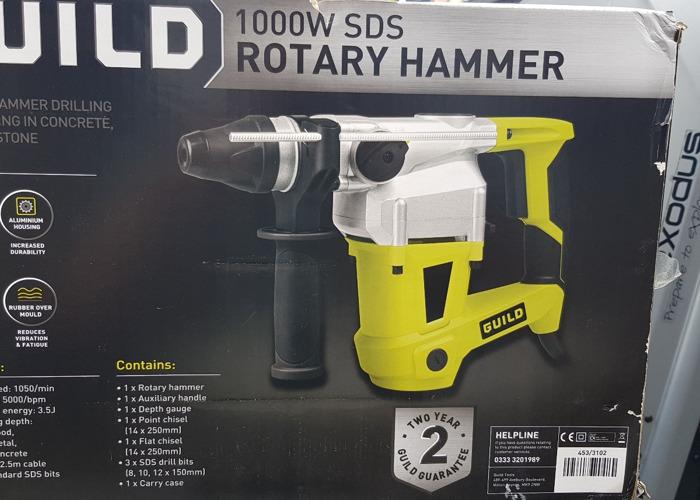 SDS Rotary Hammer Drill 1000W - 1