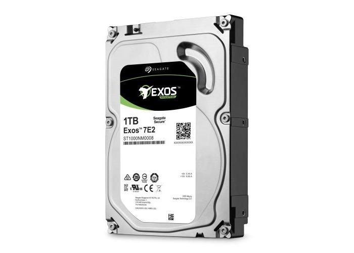 "Seagate 3.5"", 1TB, SATA3 Exos 7E2 Enterprise Hard Drive, 7200RPM, 128MB Cache - 1"