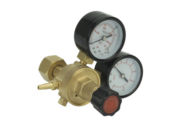 Sealey REG/MT MIG Gas Regulator 2 Gauge Industrial - 1