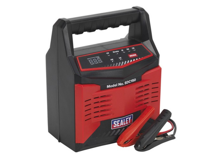 Sealey SDC150 Battery Charger 12/24V 15Amp 230V Automatic - 1