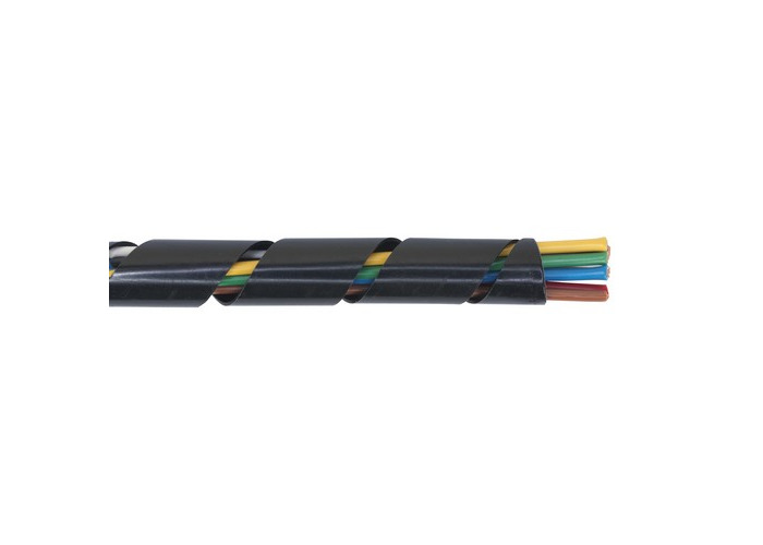 Sealey SWS1428 Spiral Wrap Cable Sleeving 14-28mm 10mtr - 1