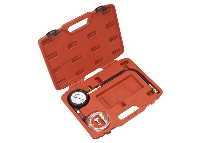 Sealey VSE3157 Diesel Compression Gauge, Hose & TDC Base Kit - 1