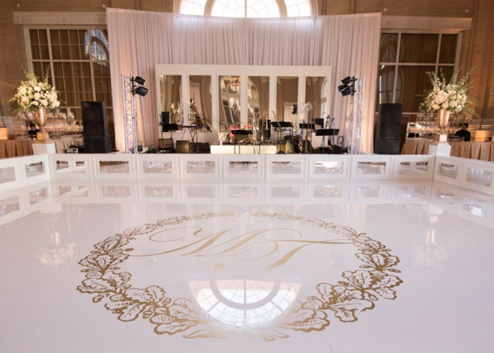 Seamless dance floor hire - 1