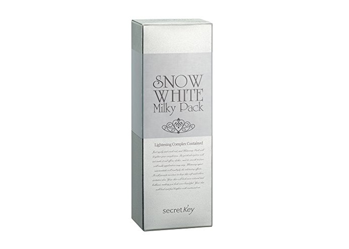 Secret key Snow White Whitening Milky Pack Mask for Face and Body, 200 g - 2
