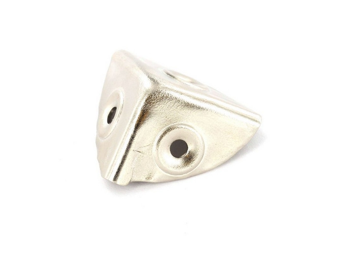 Securit S6609 Case Corners Nickel Plated Pack Of 4 - 1