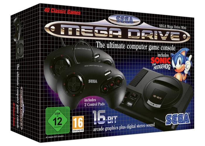 Sega Megadrive / Genisis Mini + Delivery london & more - 1