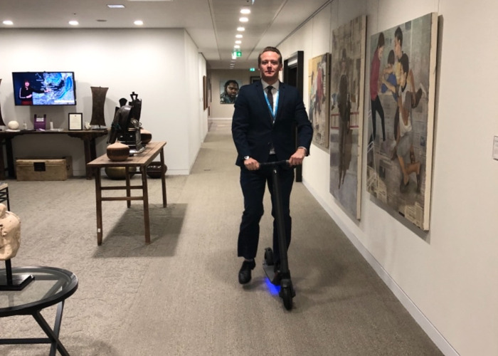 Segway Ninebot ES2 Electric Scooters  - 1