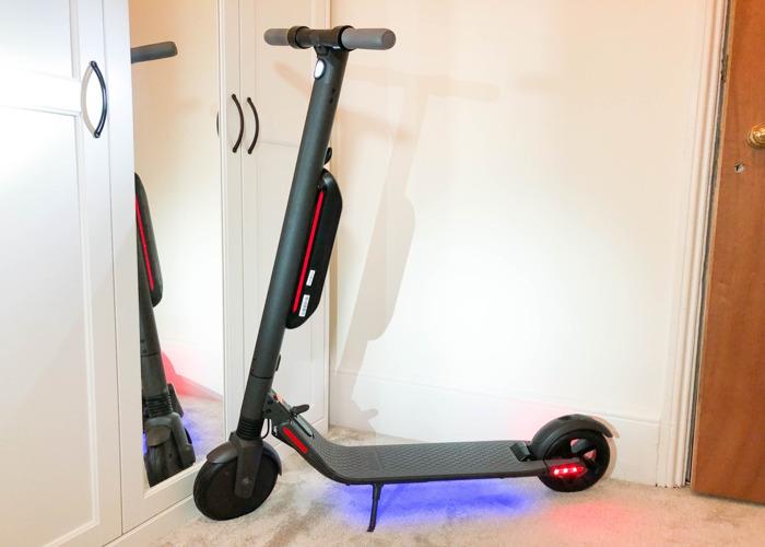 Rent Segway Ninebot ES4 ES2 Electric Scooter Sport Black