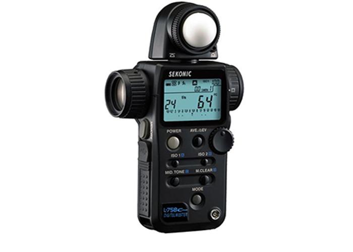 Sekonic L-758C, Cine Digital Master Light Meter - 1