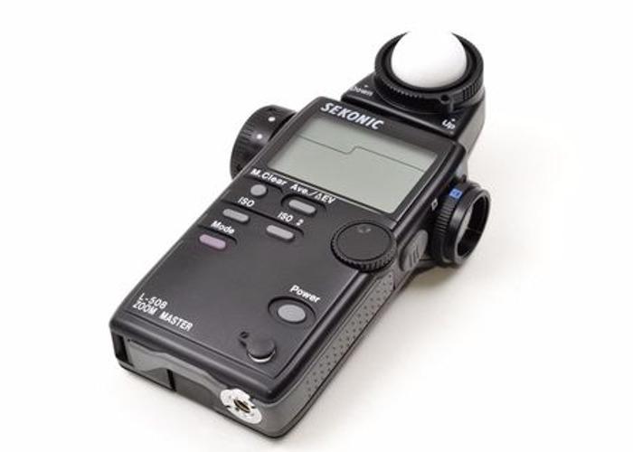 Sekonic light meter Zoom Master L-508 - 1