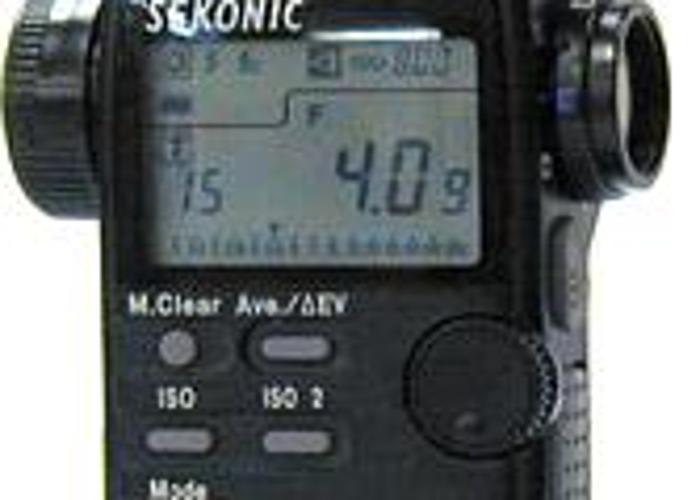 Sekonic light meter Zoom Master L-508 - 2