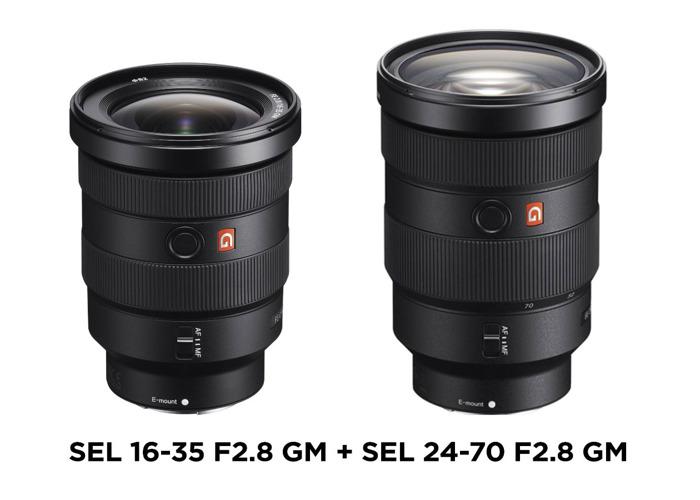 SEL 16-35 F2.8 GM + SEL 24-70 F2.8 GM bundle - 1