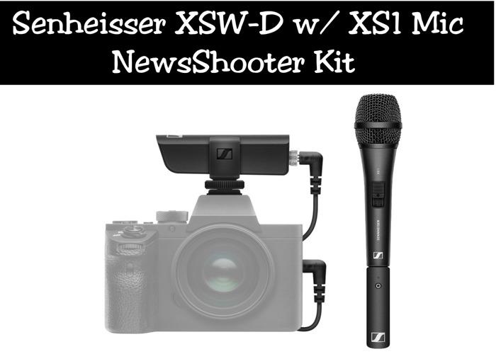 Senheisser XSW-D w/ XS1 Mic | ENG NewsShooter Kit - 1