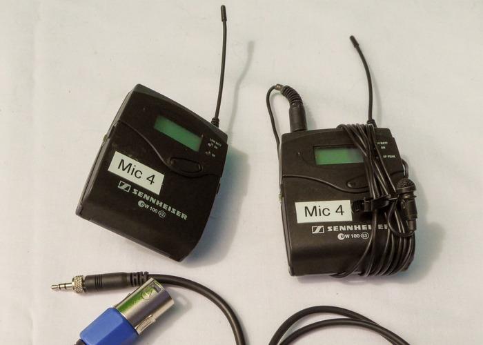 Sennheiser EW 100 G3 Radio Microphone - 1