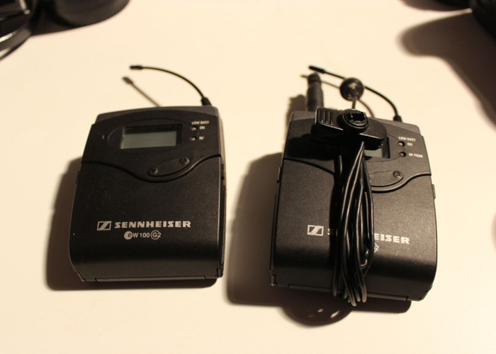 Sennheiser ew100 g2 Wireless Lavalier Microphone System - 1