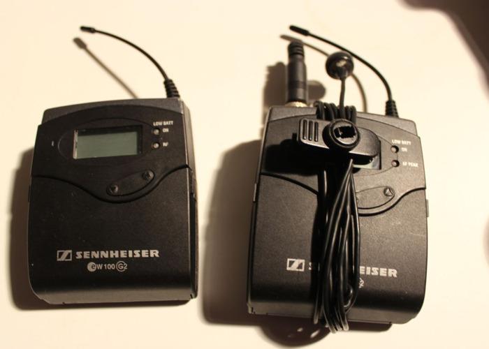 Sennheiser ew100 g2 Wireless Lavalier Microphone System - 2