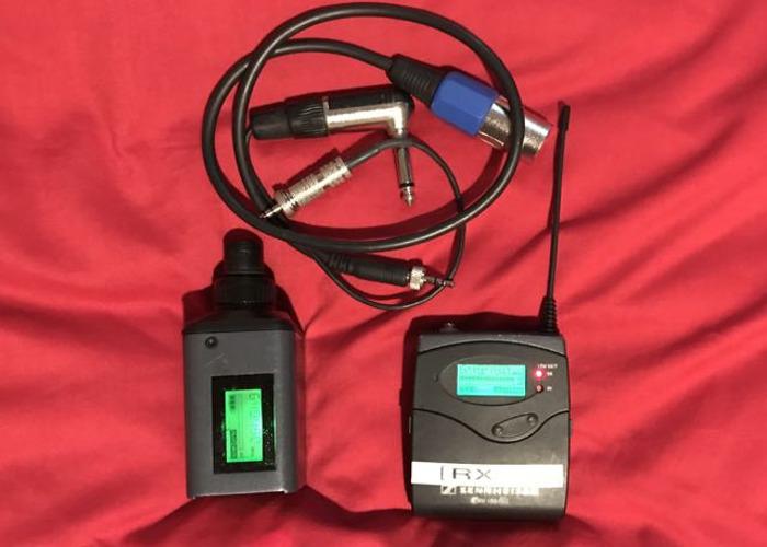 Sennheiser ew100 G2 Wireless Plug On Transmitter Set - 1