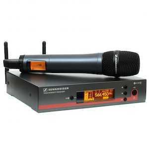 Sennheiser EW100 G3 Handheld Wireless Microphone & Receiver - 1