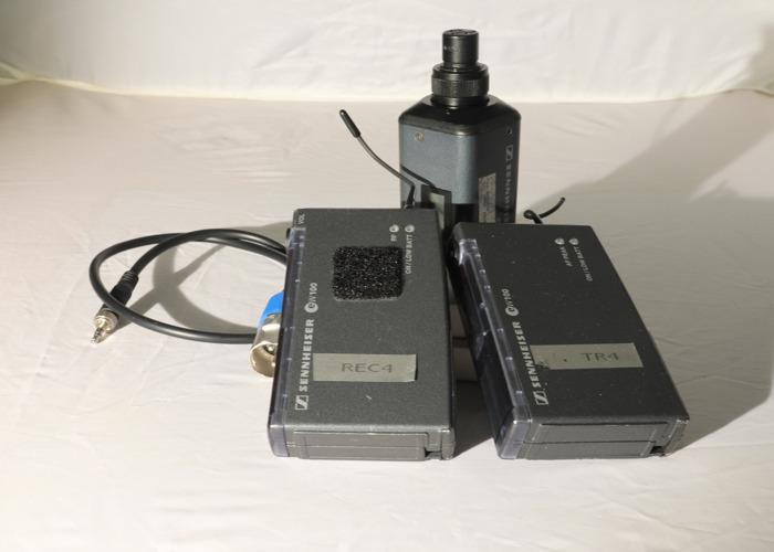Sennheiser EW100 Radio mic kit - 1