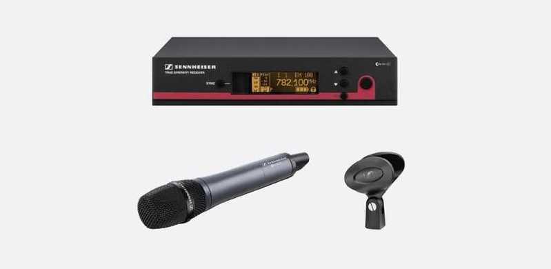 Sennheiser EW135 G3-GB Wireless Microphone System - 1