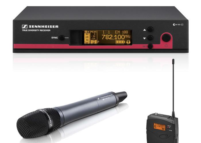 Sennheiser G3 100 Single Wireless Microphone Kit - 1