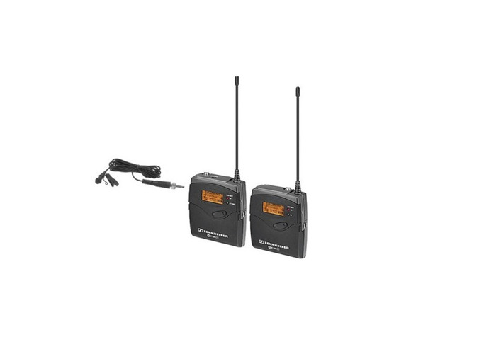 Sennheiser G3 body clip microphone kit + Zoom H4N - 2