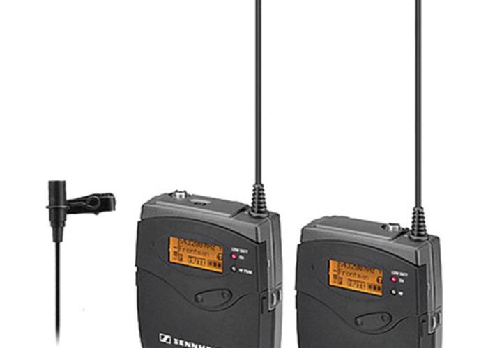 Sennheiser G3 ew 112-p Band A Wireless Microphone Package - 1
