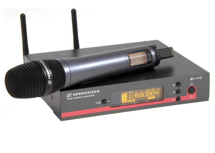 Rent Sennheiser G3 Handheld Wireless Microphone & Receiver in London
