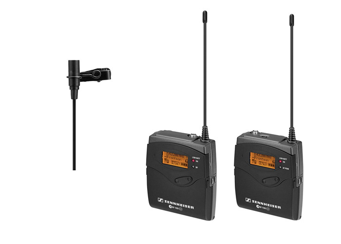 Sennheiser G3 Lavalier Wireless Microphone And Receiver - 1