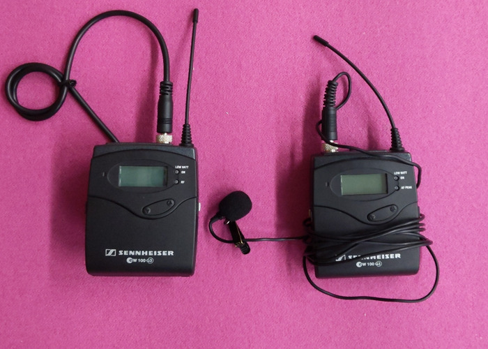 Sennheiser G3 radio mic - 1