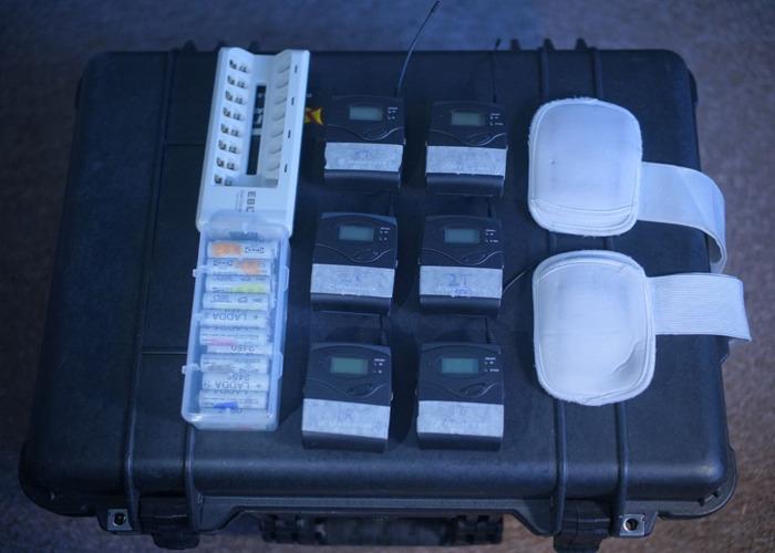 Sennheiser G3's, LAVS, Batteries - 1