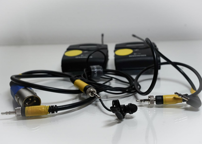 Sennheiser G4 Wireless Kit, Lapel body microphone, lavalier - 2