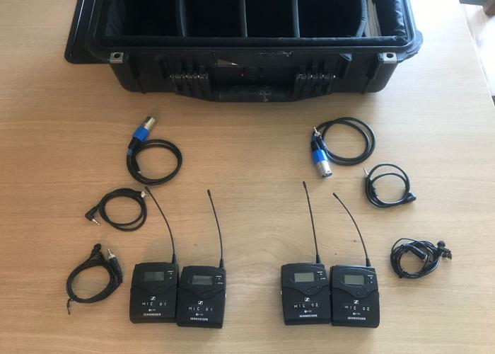 Sennheiser G4 Wireless Radio Mics - 1