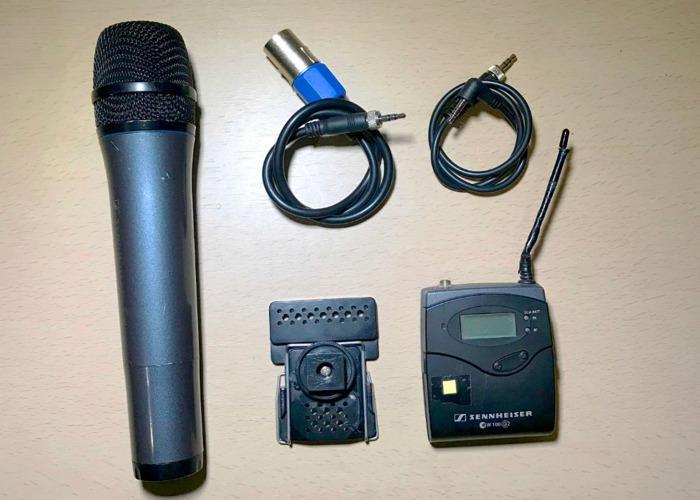 Sennheiser Wireless Handheld Mic - 1