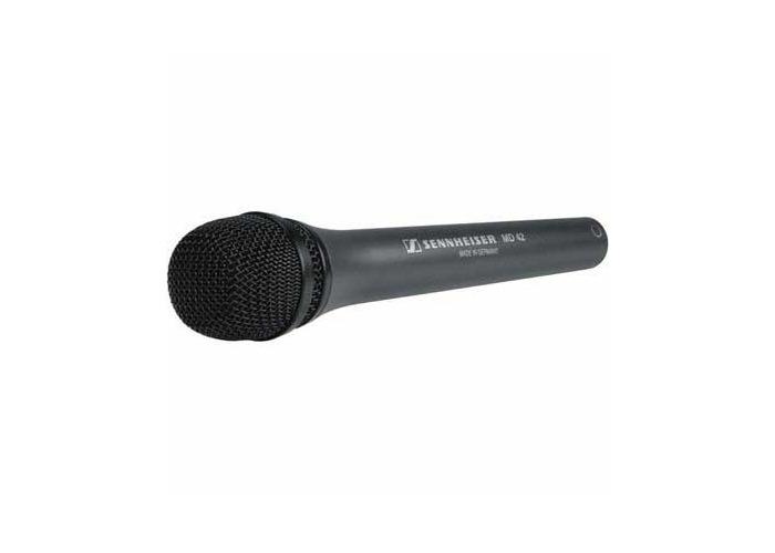 Sennheiser MD-42 Omni-directional Rugged Reporter Microphone - 1