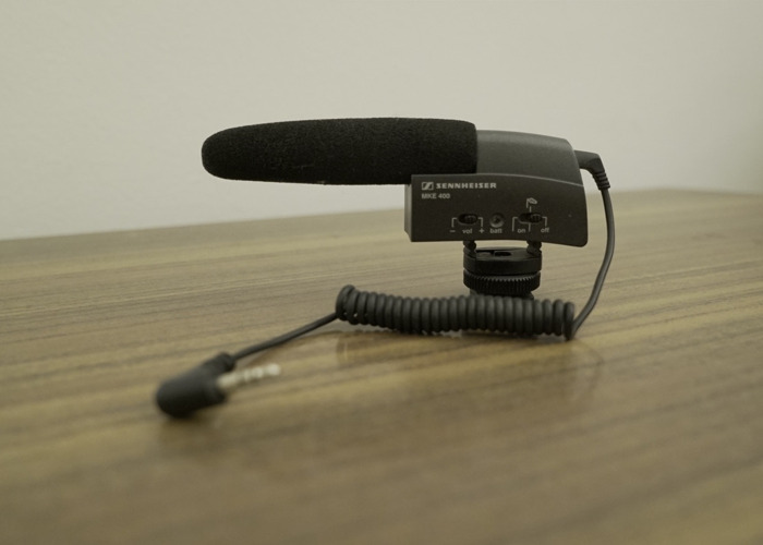 Sennheiser MKE 400 top mic for camera - 1