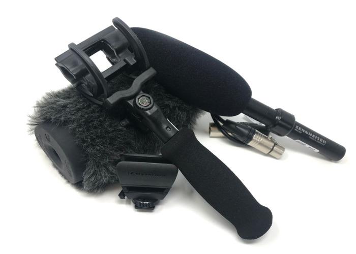 Sennheiser MKE 600 Shotgun Mic  Package - 1