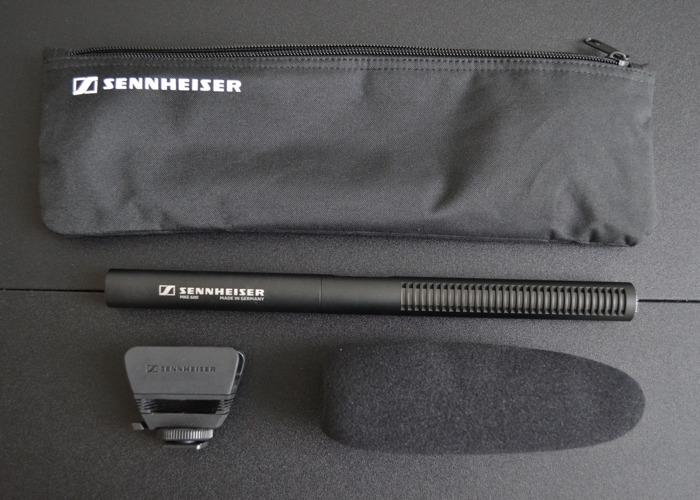 Sennheiser MKE 600 Shotgun Microphone - 1
