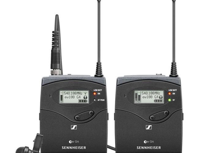 Sennheiser Wireless Lavalier Microphone Set - 1