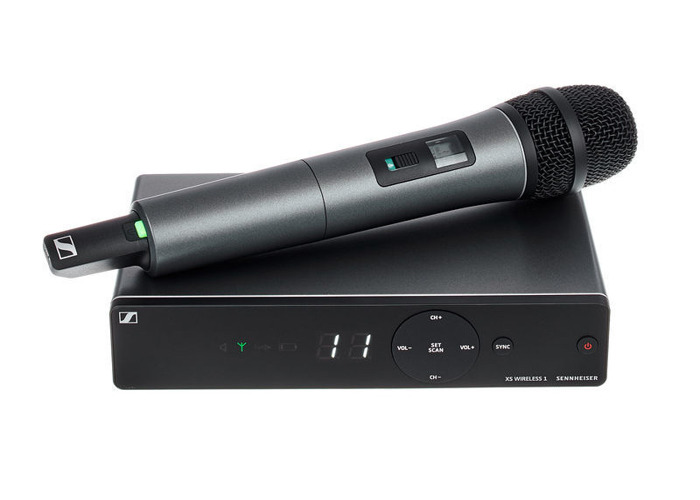 Sennheiser XSW 1-825 Vocal Set, GB Band - 1
