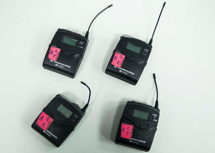SENNHIEISER Wireless Radio Mic's - 2
