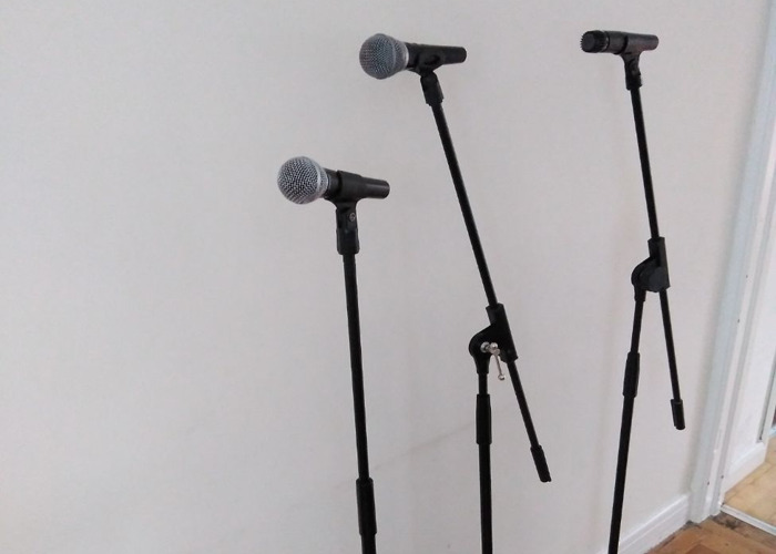 Stage microphones set - 2