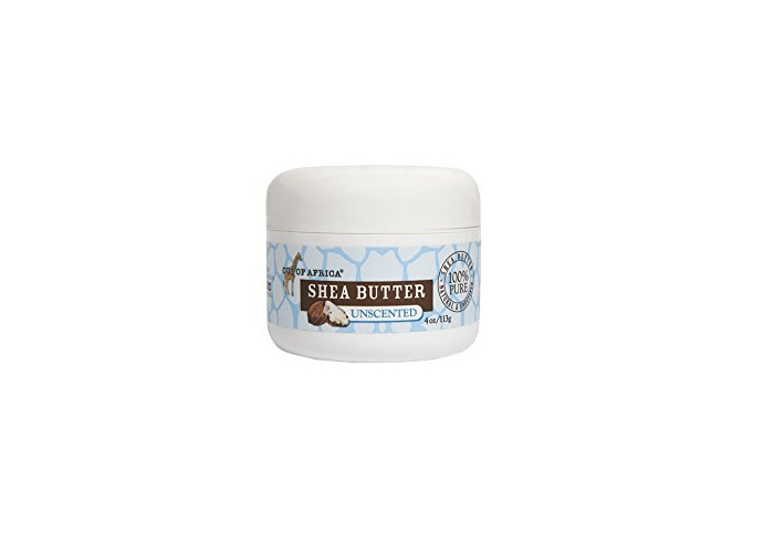 Shea Butter, Unscented, 4 oz (113 g) - Out of Africa - 1