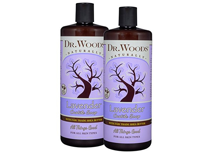 Shea Vision, Soothing Lavender Castile Soap, 32 fl oz (946 ml) - Dr. Woods - 2
