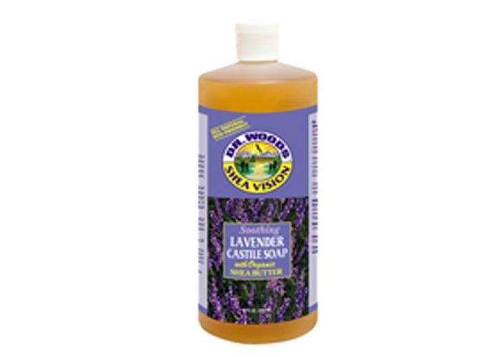 Shea Vision, Soothing Lavender Castile Soap, 32 fl oz (946 ml) - Dr. Woods - 1