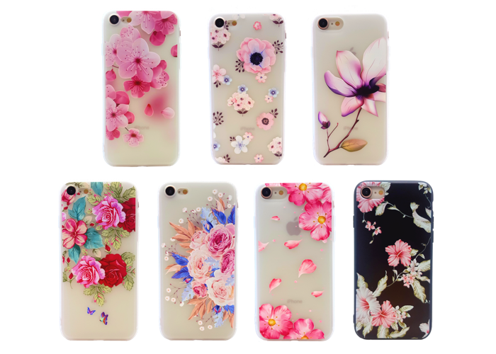 cover iphone 6 flower